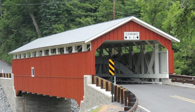 Vote For Covered Bridge by J.Deemer
