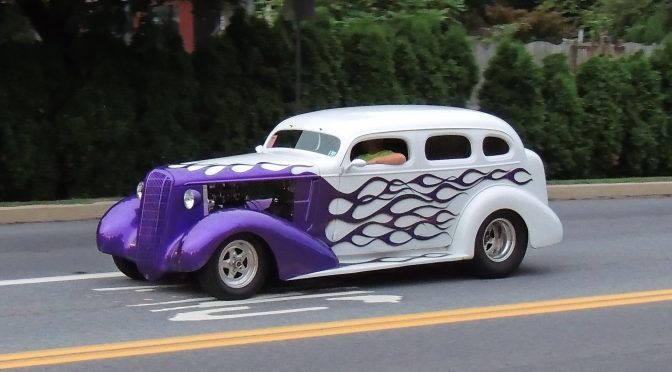 36th Annual Wheels Of Time Rod & Custom Jamboree Friday Cruise
