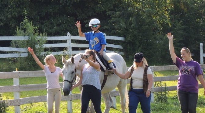 Have You Heard about LEAP Therapeutic Riding?