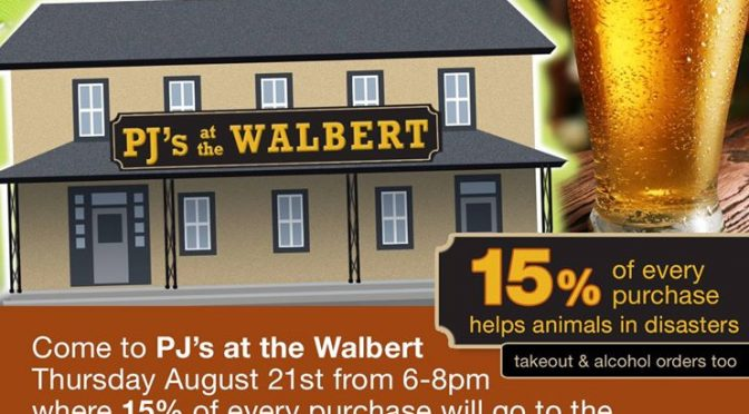 LVCART's Fundraiser @ PJ's at The Walbert