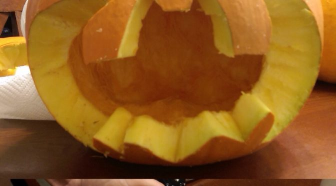 Batman Pumpkin!