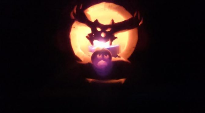 Richard, Walter and Aileen's Owl and Pumpkin