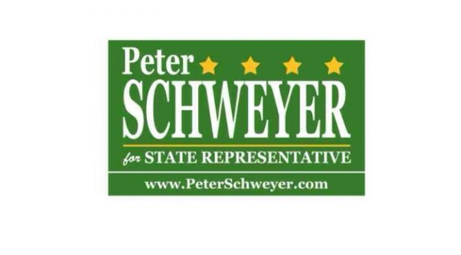 STATE HOUSE CANDIDATE PETER SCHWEYER ANNOUNCES ELECTION DAY PLANS