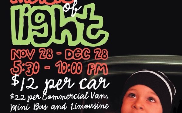 LIGHTS IN THE PARKWAY OPENS NOVEMBER 28