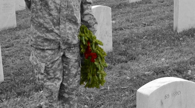A Christmas Wreath, For A Fallen Hero