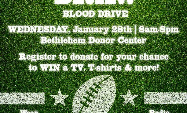 The SUPER DRAW Blood Drive