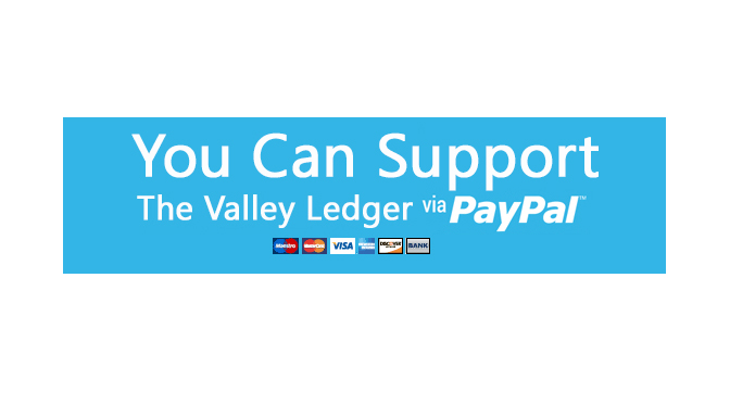 Help Support The Valley Ledger | The Valley Ledger | Its All