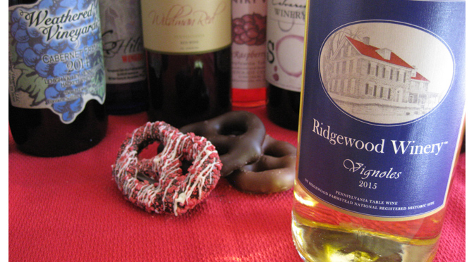 CHOCOLATE ALERT: Sweet Seduction with Wine & Chocolate from a new Valentine winery