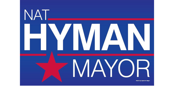 CITIZENS AGAINST HIGHER TAXES ENDORSES NAT HYMAN FOR MAYOR OF ALLENTOWN