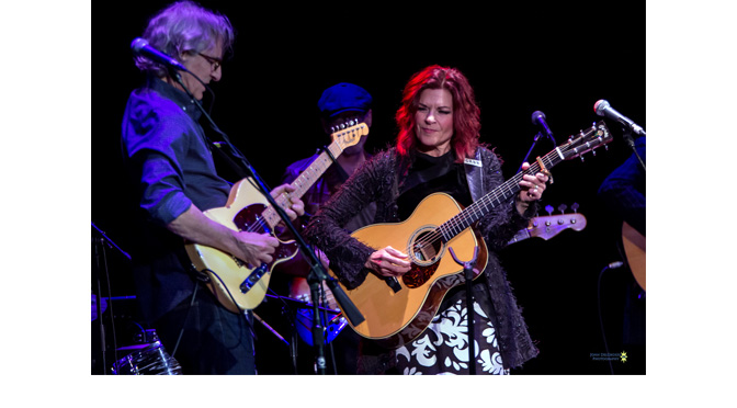 Rosanne Cash at the State Theater – Photos by: John DelGrosso