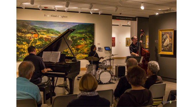 A night at the Allentown Art Museum with Allentown Jazzfest