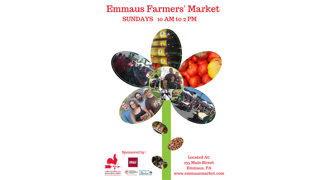 Emmaus Farmers' Market Announces 2017 Spring Opening Day