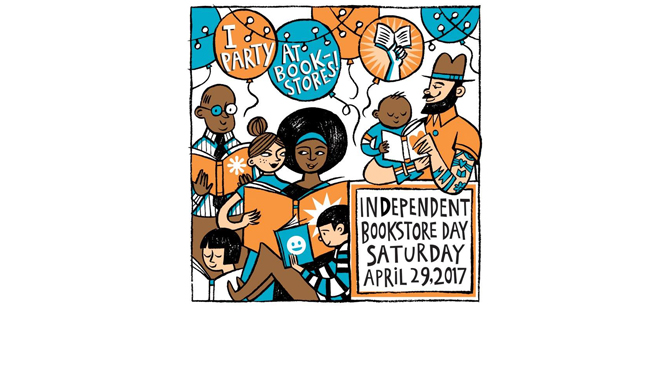 Celebrate Independent Bookstore Day at  Let's Play Books Bookstore on Sat., April 29