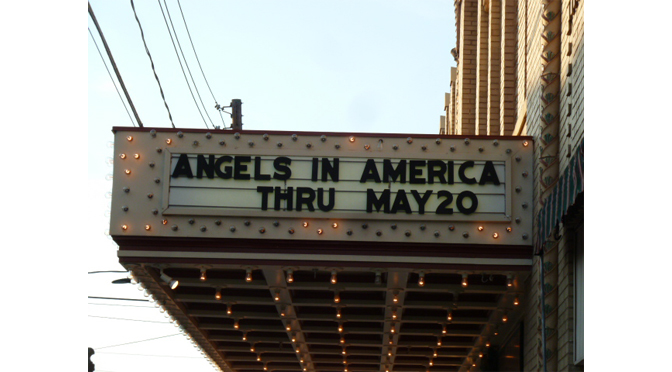"Review of Civic Theater's Presenttaion of  ""ANGELS IN AMERICA: A Gay Fantasia on National Themes"" by Janel Spiegel"