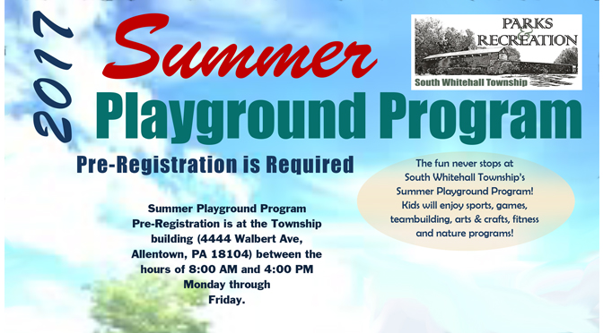 South Whitehall's Summer Playground Program