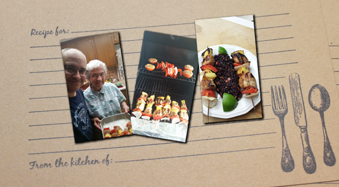Island Turkey Kabobs w/ Forbidden Rice and a side of reminiscing the 10th Ward – by Joe Scrizzi
