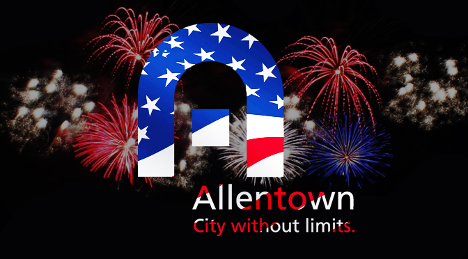 ALLENTOWN CELEBRATES AMERICA'S INDEPENDENCE WITH FIREWORKS & STREET FESTIVAL
