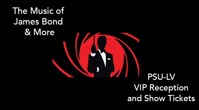 "Penn Staters invited to ""The Music of James Bond & More"""