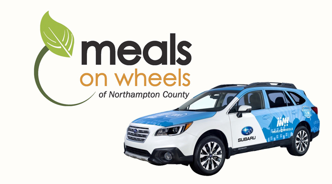 SUBARU DONATES 2018 OUTBACK TO MEALS ON WHEELS OF NORTHAMPTON COUNTY