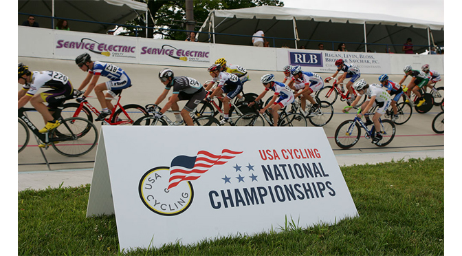 VALLEY PREFERRED CYCLING CENTER TO HOST '18 USA CYCLING MASTERS, JUNIORS NATIONAL CHAMPIONSHIPS