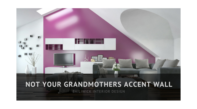 Not Your Grandmothers Accent Wall – by Carrie Oesmann
