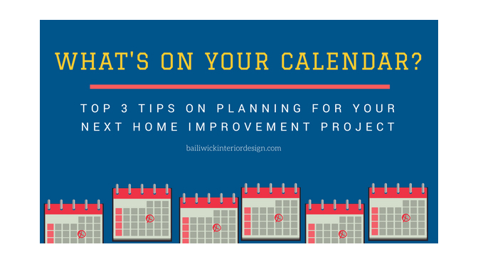 What's on Your Home Improvement Calendar?  – By: Carrie Oesmann