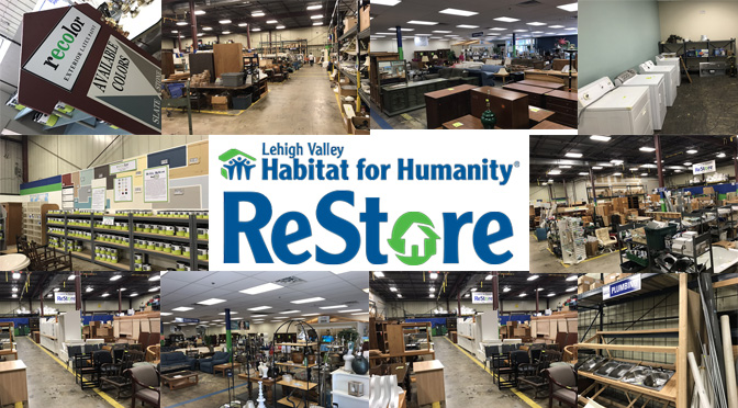 It Is Time To Check Out What Is In Store At The Habitat Lehigh Valley Restore The Valley Ledger Its All About The Lehigh Valley