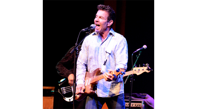 DENNIS QUAID AND THE SHARKS SHOOK MUSIKFEST CAFE