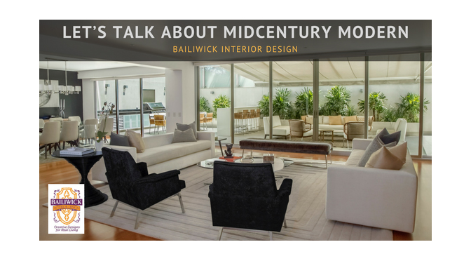 Let's Talk About Midcentury Modern – by Carrie Oesmann