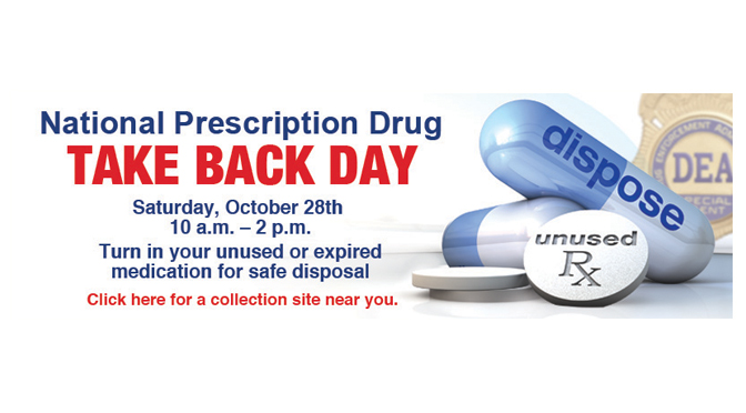 National Take Back Day drug collection events scheduled in Allentown