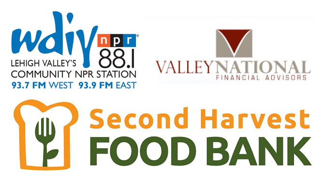WDIY and Valley National Financial Advisors Partnership Delivers over 11,991 Meals to Second Harvest Food Bank of Lehigh Valley and Northeast Pennsylvania