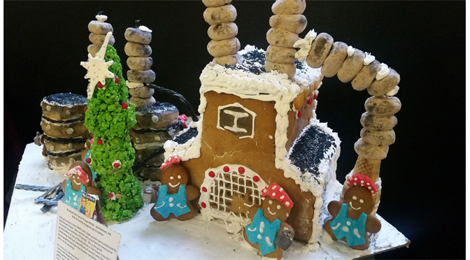 Image result for press release for gingerbread competition