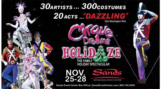 Cirque Dreams Holidaze – Ticket Giveaway!!!