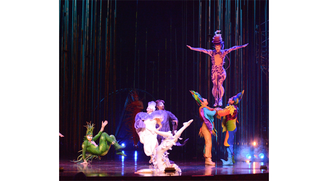 CIRQUE DU SOLEIL'S VAREKAI IS A SPECTACULAR PERFORMANCE