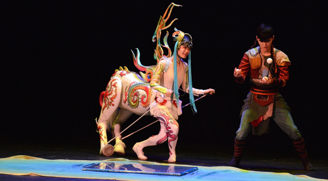 MARTIAL ARTISTS & ACROBATS OF TIANJIN AMAZE AUDIENCE