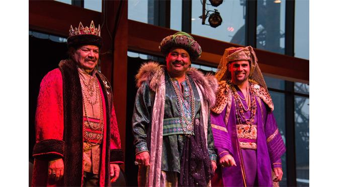 Star Leads the Three Kings to SteelStacks in Bethlehem Jan. 7