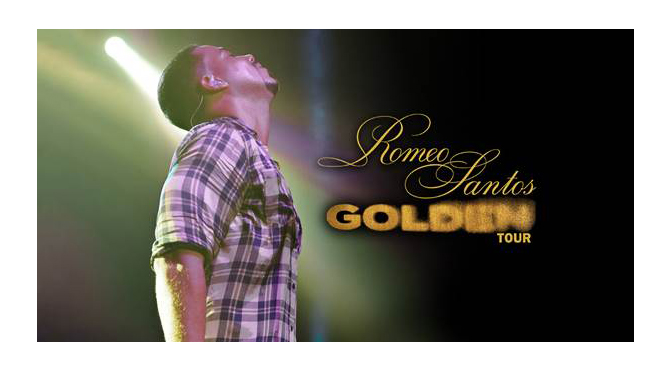 """""""THE KING OF BACHATA"""" ROMEO SANTOS ANNOUNCES 2018 """"GOLDEN TOUR"""" date at ALLENTOWN'S ppl center on march 8"""