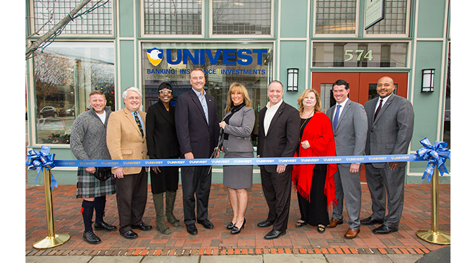 UNIVEST CELEBRATES OPENING OF FINANCIAL CENTER IN BETHLEHEM – Second retail location in the Lehigh Valley