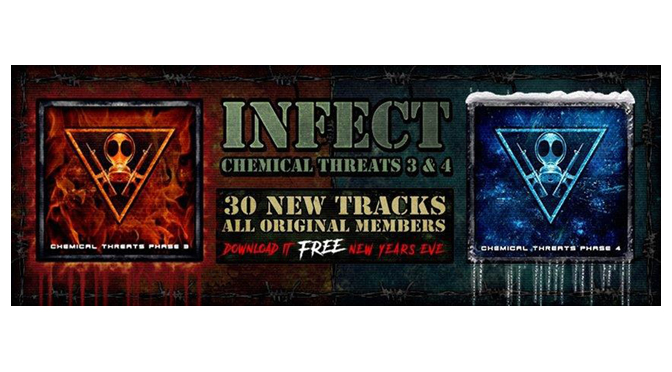 Mission: Infect is BACK with a NEW album! (CHEMICAL THREATS 3 & 4) Plus, an EXCLUSIVE INTERVIEW with Lo Key