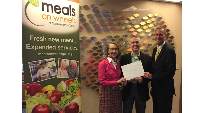 Meals On Wheels Receives Laros Foundation Grant Award