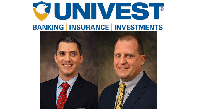 REGGIE REITER APPOINTED SVP OF COMMERCIAL LINES AT UNIVEST INSURANCE / Brian Deutsch Joins as Risk Management and Safety Consultant