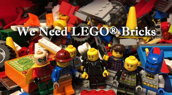 Donate your LEGO bricks to LVCC!