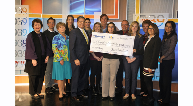 Univest Provides $75,000 to Support Education in Lehigh County
