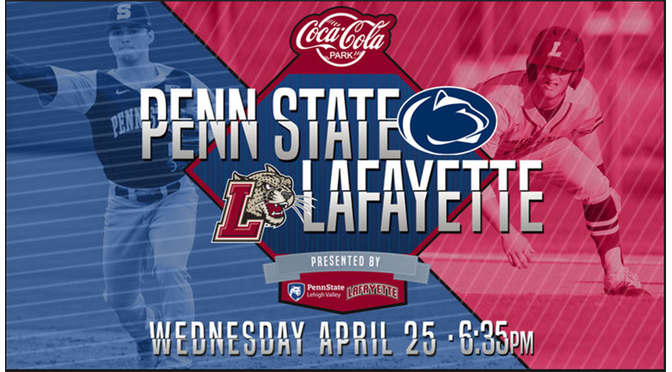 Penn Staters invited to PSU v. Lafayette Baseball Game