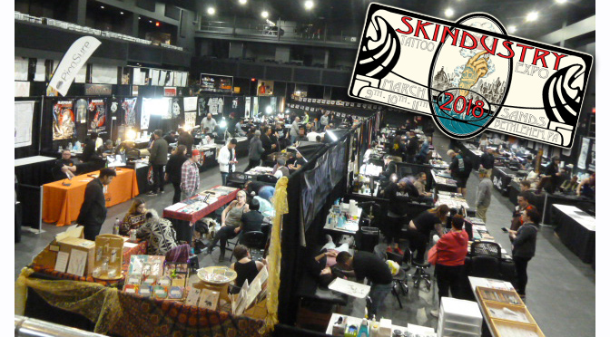 Skindustry Tattoo Expo 2018 at the Sands Bethlehem Event Center