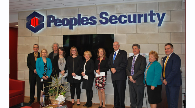 Peoples Security Donates $16,000 to Lehigh Valley Education and Art Institutions