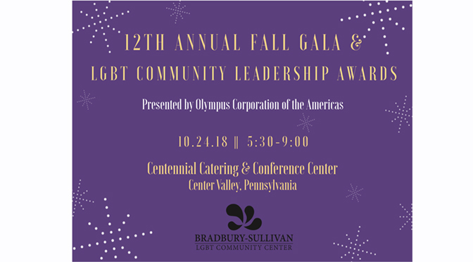Bradbury-Sullivan LGBT Community Center Announces Mara Keisling as Keynote Speaker for 2018 Fall Gala