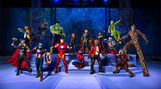 Marvel Universe LIVE! Coming to PPL Center for New Action-Packed Stunt Show