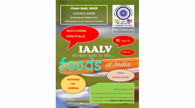 Foods of India 2018