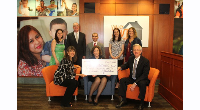 Valley Youth House Receives $15,000 from the Provident Bank Foundation